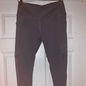 Victoria Sport Charcoal Grey Mesh Leggings